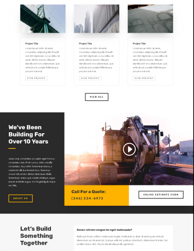 layouts-business-construction-company